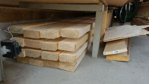 Large lot of lumber, osb, 2x4's, 2x6's, 1x4's, plywood