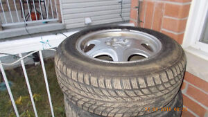 4 set of Winter Tires for $350 Kitchener / Waterloo Kitchener Area image 2