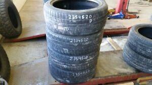 Set of 4 Pirelli Scorpion Zero 235/45R20 tires (50% tread life)