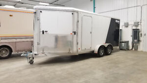 2016 Mission 7ft x 16ft Enclosed Trailer