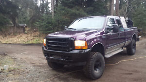 1999 Ford F-350 Lariat Pickup welding truck !