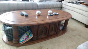 Coffee Table ,2 End  Tables