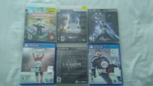 Ps4 and 3 Games all for $ 50