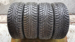 ** 4 PNEUS D'HIVER GISLAVED ¨NORD*FROST 5¨ P185/60R15 **