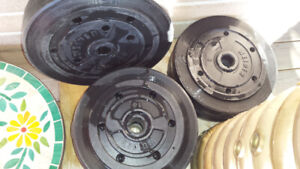 METAL AND PLASTIC LIFTING WEIGHTS