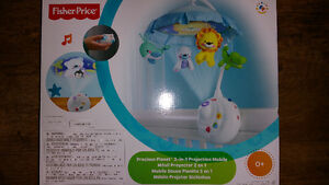*NEW* Fisher Price Precious Planet 2-in-1 Projection Mobile