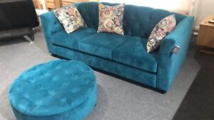 Clearance stock Australian made couch with ottoman