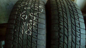 Pairs of R18 all season SUV/Truck tires