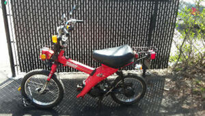 1984 Yamaha Towny MJ50 classic scooter/moped, about 90% rebuilt