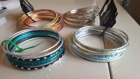 4 brand new sets of bangles