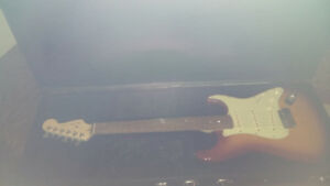 Barely used Fender guitar
