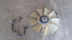 07-09 Dodge 2500-5500 Fan & brackets