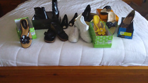 Women's Shoes and Sandals Size 9