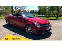 2014 Mercedes-Benz E-Class Cabriolet E220 CDI AMG Sport 2dr 7G-Tron Automatic Di