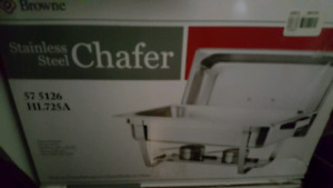 4 stainless steel chafer
