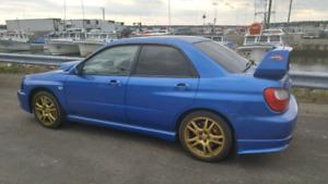 "Wanted: 17"" Subaru STI Wheels"