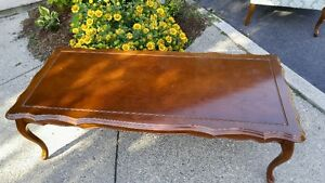 Solid Wood Coffee Table Cambridge Kitchener Area image 1