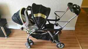 baby trend sit and stand stroller and car seat