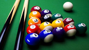 Looking for 8-ball pool or tennis partner