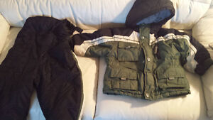 24 month Oshkosh snowsuit boys