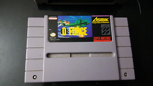 D Force Super Nes
