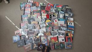 Well over 100 Punk, Metal, Grunge, Hip Hop cd's!
