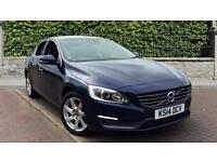 2014 Volvo S60 D2 (115) SE Nav with Sunroof a Manual Diesel Saloon