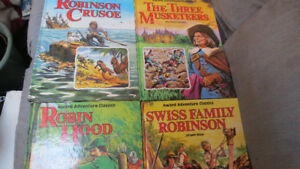 Award Adventure Classics books(4)