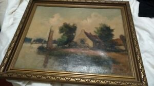 oil painting from 1910