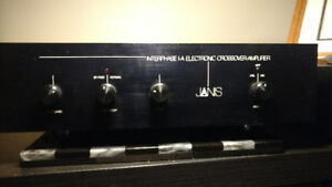 Janis Subwoofer Amplifier quite rare, Acts as a plate amplifier