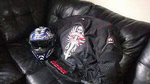 Helmet + Jacket sold together