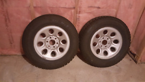 Two Winter Tires Artic Claws $250