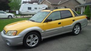 2003 Subaru Baja Fun SUV, Strong Crossover UTE, non-Turbo