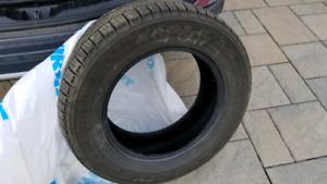4 Summer Tires 235/65 R17 good condition