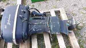 40 hp Johnson boat motor Peterborough Peterborough Area image 1