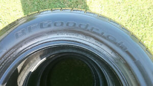 4 - 215/60R15 BF Goodrich Advantage T/A tires for sale.