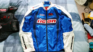 Icon Arc Suzuki GSX-R Limited Edition motorcycle jacket XXL