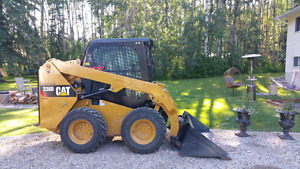 2014 Cat 236D Skidsteer  For Sale $56000.00+GST