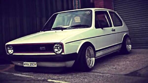 Looking for MK1. late 70's early 80's volkswagen Golf or Rabbit