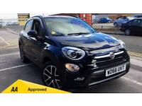 2017 Fiat 500X 1.4 Multiair Cross Plus 5dr Manual Petrol Hatchback