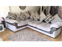 Large Harvey's Jumbo Cord Corner Sofa