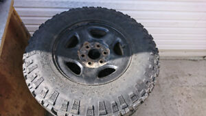 Kelly Safari TSR M+S  LT 245 75 16 Tires w/ Rims