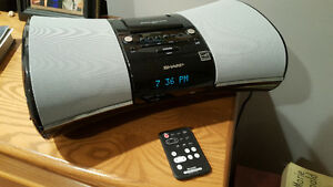 Sharp DKA1 i-Elegance Music System with Alarm Clock for iPod