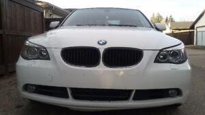 2007 BMW 5-Series Sedan/Leather/Sunroof