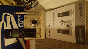 vtech wireless home phone with answering machine
