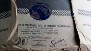 9 old records * sleeves from London Ontario