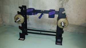 Small weight rack