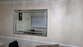 Large mirror like new