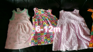 6-12m baby girl clothes
