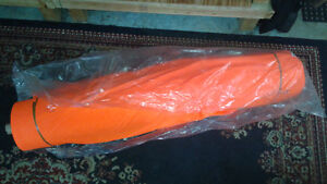 High Visibility Orange and Yellow 100% polyester fabric